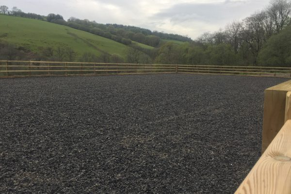 Ceredigion 20 x40m rubber chip