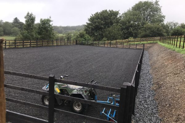 outdoor manege Equi Arenas west wales